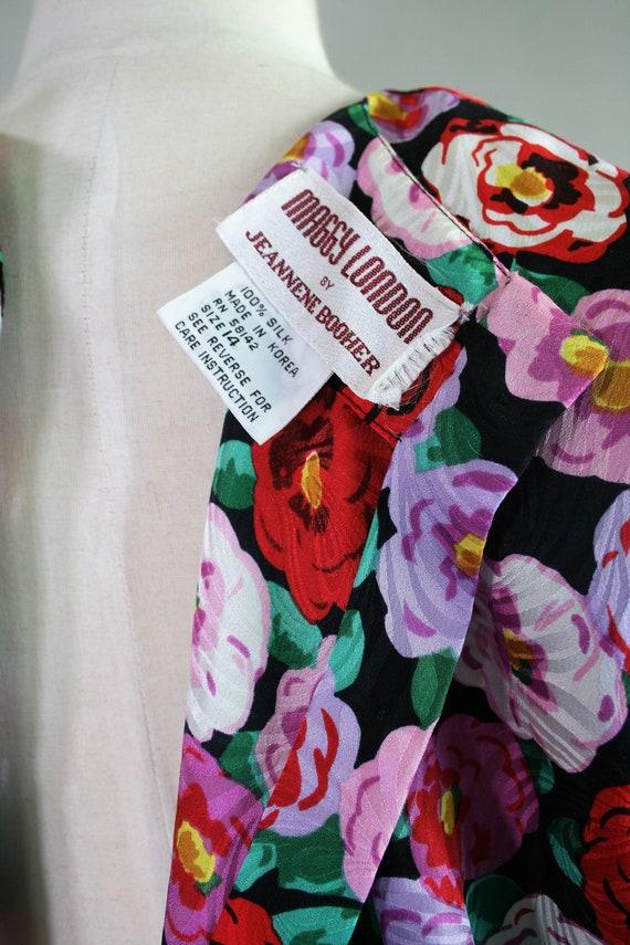 Bloomer - Circa 1980s - Silk - Wide waistband - P… - image 6
