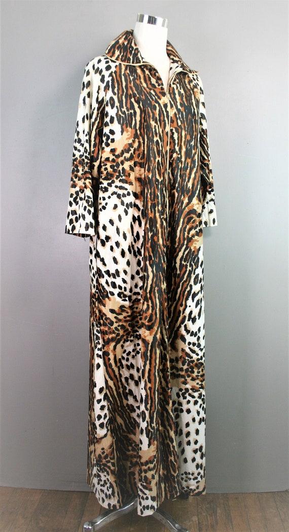 Aristo-Cat - 1960-70s -  Loungewear - Leopard/Tige