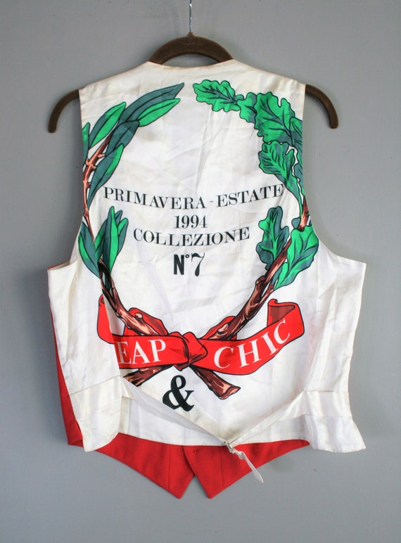 Moschino - Cheap Chic - Designer Vest - Op Art