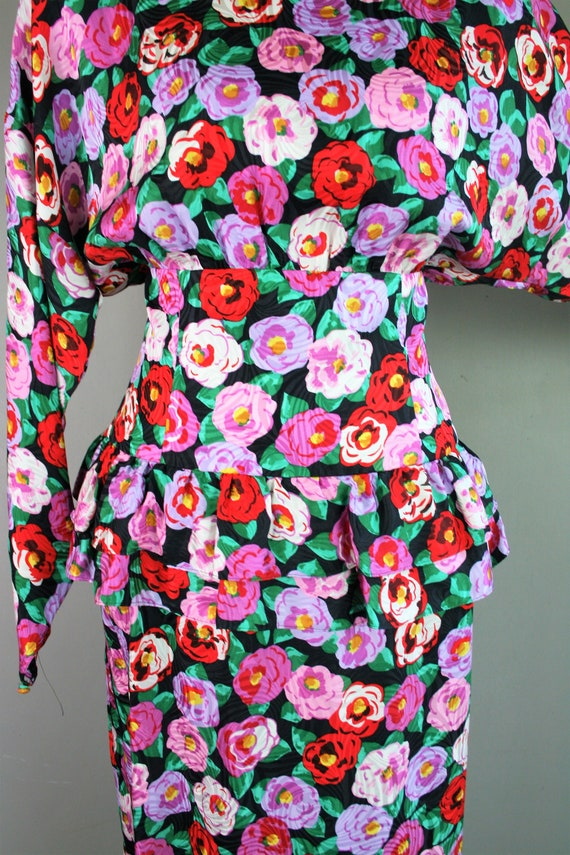 Bloomer - Circa 1980s - Silk - Wide waistband - P… - image 4