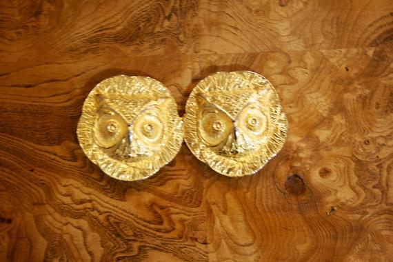 """Twin Peaks - Large Owl Belt Buckle - 6"""" X 3"""" - No"""