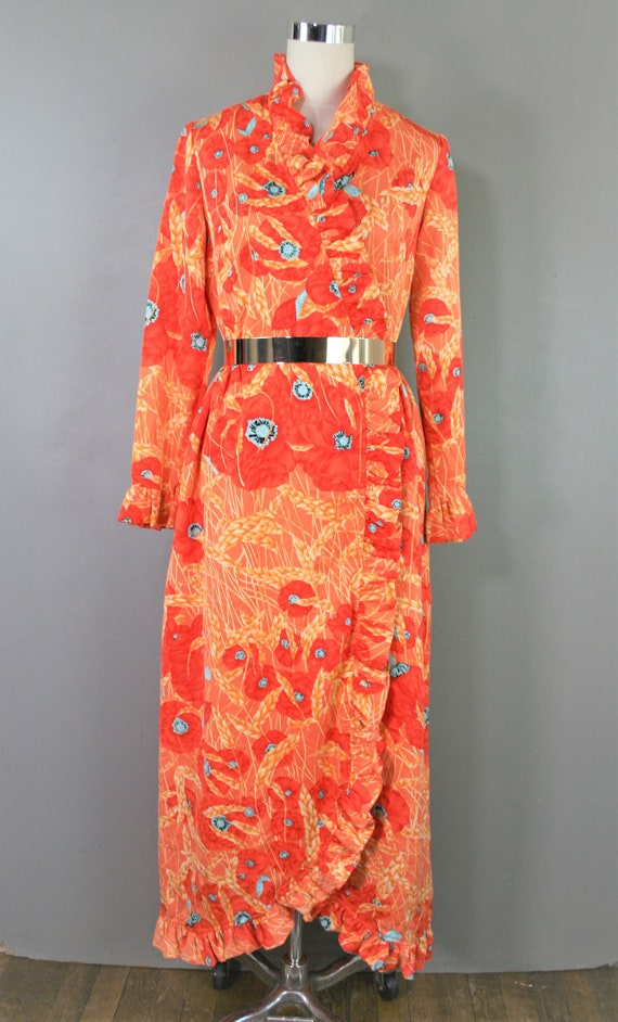 Concept 70's Swirl - Wrap Dress - Estimated size 1