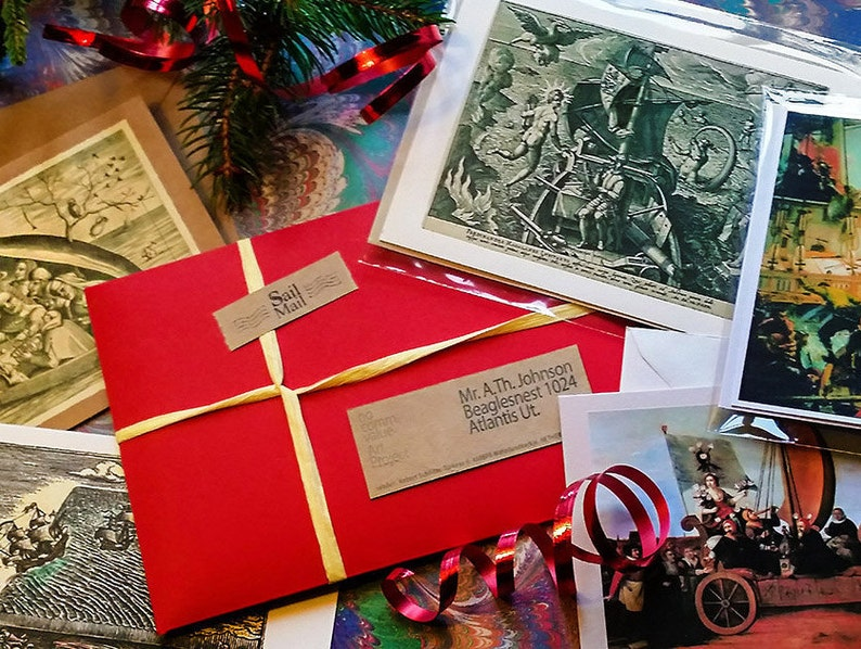 Christmas gift package with 5 Discovery / Sailing Related image 0