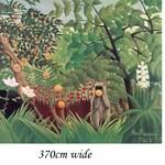 Order for emahori, 370cm wide x 270cm high, traditional vinyl wallpaper