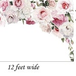 Order for Melissa Wright, 12 feet wide x 8 feet high, self adhesive wallpaper, removable wallpaper, peel and stick