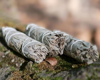 Sage Bundle Incense for Smudging Cleansing & Purifying Your Home | Air Freshener | Self Care, Healing, Wellness, Stress and Anxiety Relief