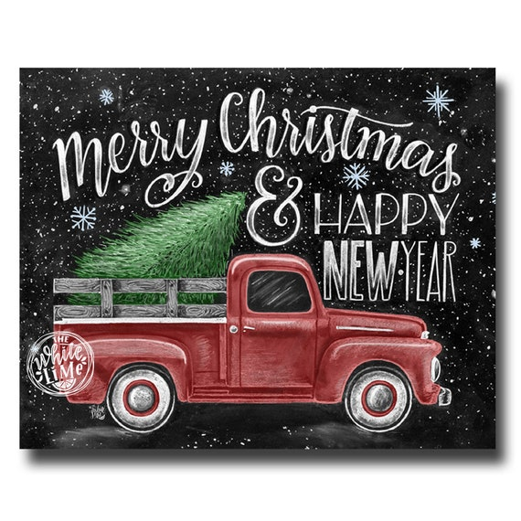 merry christmas sign merry christmas happy new year etsy