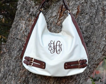 Monogram Hobo Bucket Purse 8423cfcd622cc