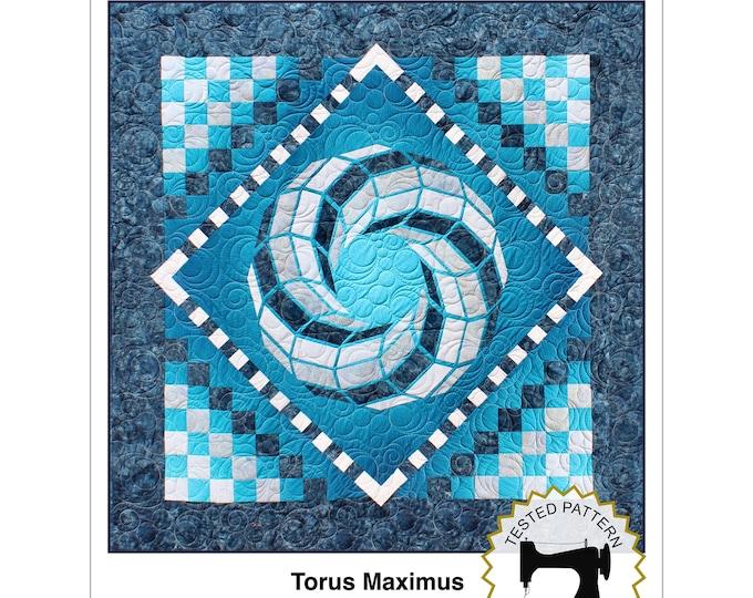 Torus Maximus, size 72 in. x 72 in. - PRINTED pattern