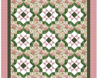 Dea's Sister - Twin size: 60 in. x 92 in. - PDF quilt pattern , PDF Download