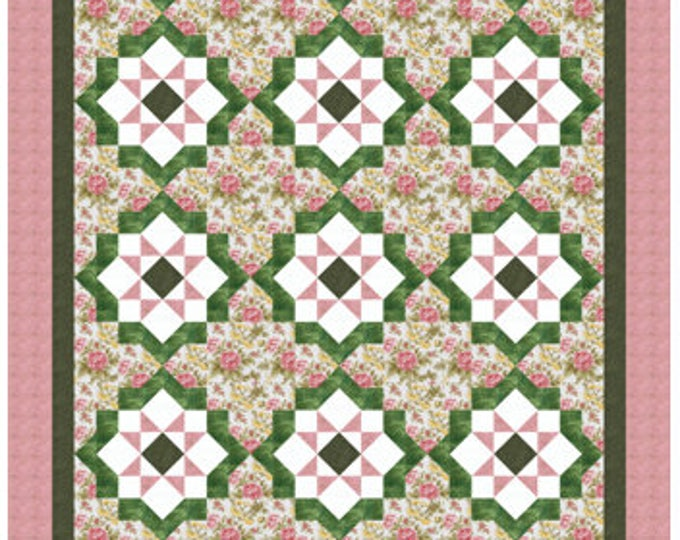 Dea's Sister - Twin size: 60 in. x 92 in. - PDF quilt pattern , PDF Download
