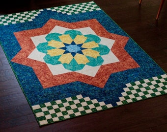 Moroccan Mosaic - quilt pattern