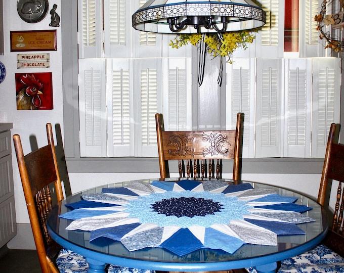 Dresden Table Topper - 39 1/2 in. diameter - PDF pattern