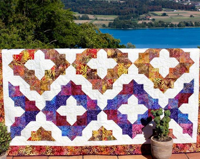 Dea's Dream - PDF quilt pattern - multiple sizes