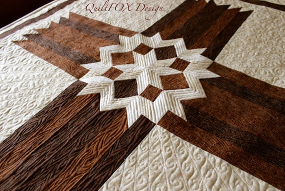 Pattern King Size Carpenter's Star Quilt Pattern Free Www Adorable Free Cross Quilt Patterns