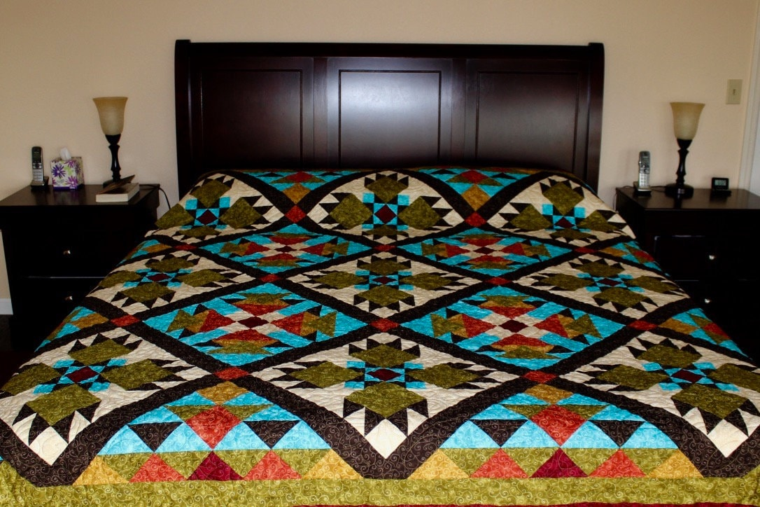 Southwest Quilt Pattern Bear Paw Indian Native American Quilt Interesting Native American Quilt Patterns