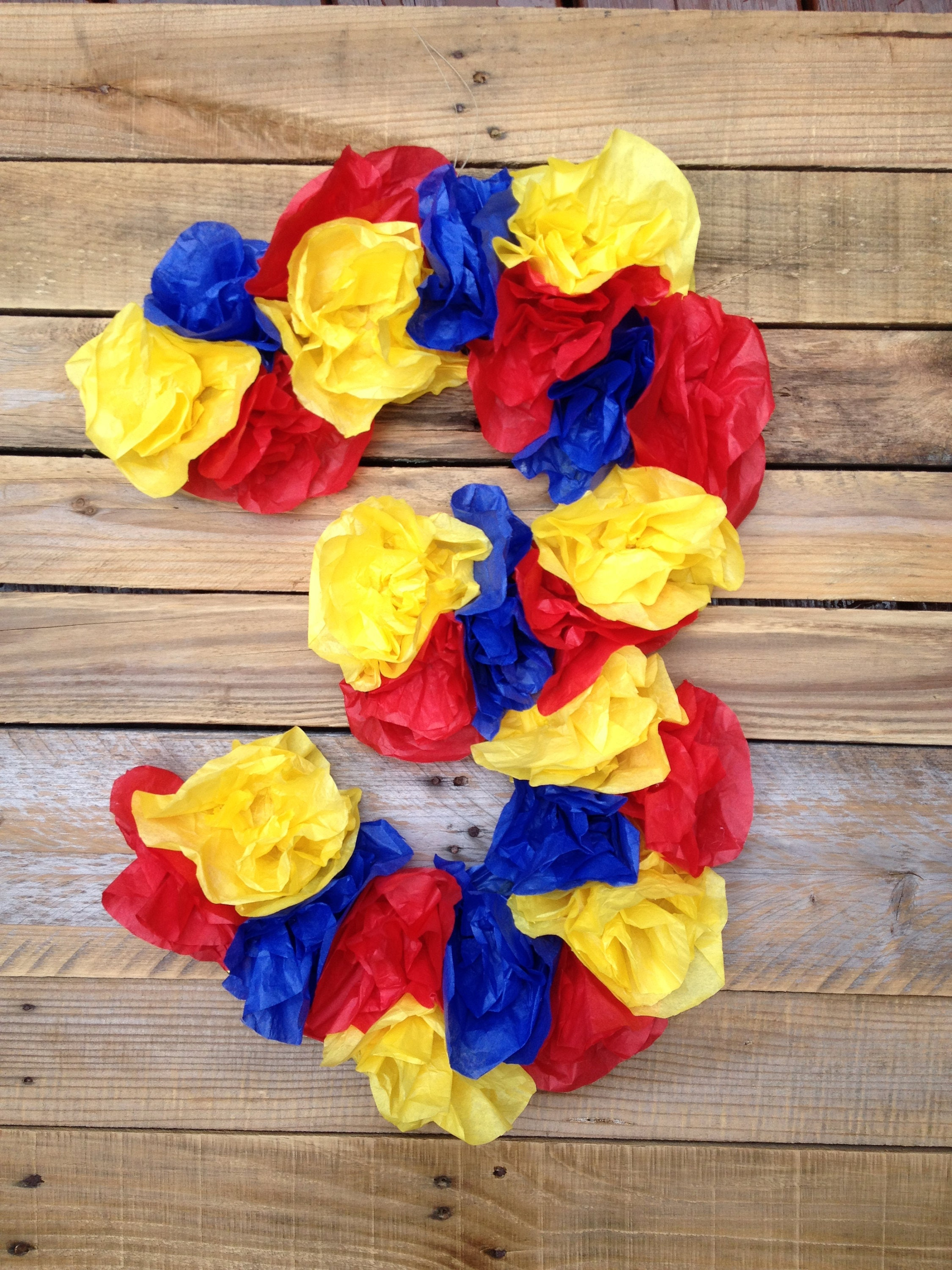 Super Hero Birthday Red Yellow Blue Number Initial Photo Prop Etsy