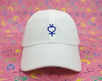 Sailor Mercury Symbol Cap