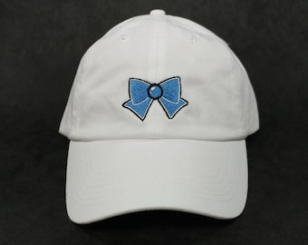 Sailor Mercury Bow Cap
