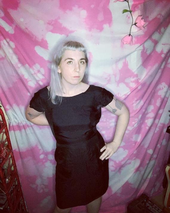 Black 40s Suit Dress - image 2