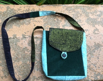 Purse made from Upcycled Clothing