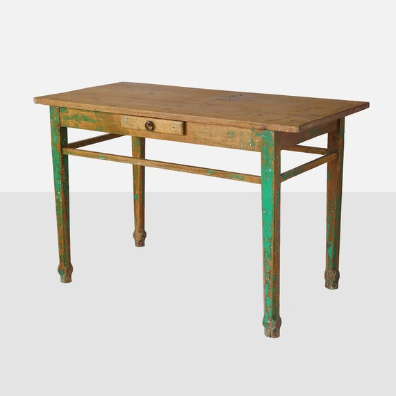 Awesome Vintage Mexican Wood Work Table Mexican Table Mexican Furniture Mexican Wood Furniture Painted Wood Table 1950 Mexican Table Table Caraccident5 Cool Chair Designs And Ideas Caraccident5Info
