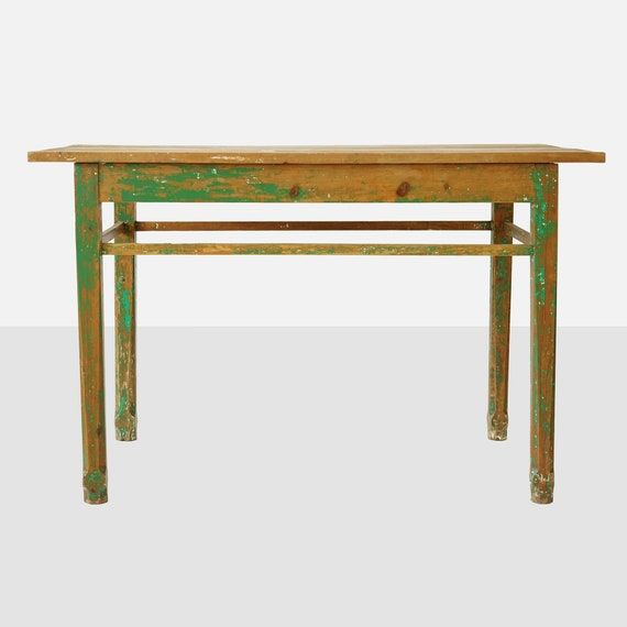 Wondrous Vintage Mexican Wood Work Table Mexican Table Mexican Furniture Mexican Wood Furniture Painted Wood Table 1950 Mexican Table Table Caraccident5 Cool Chair Designs And Ideas Caraccident5Info
