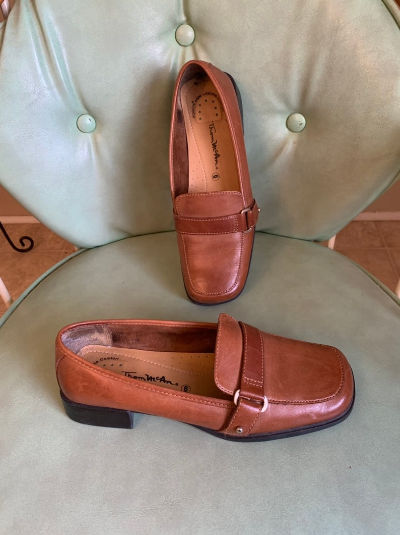 e7c5df6b426 Thom McAn Leather Loafers