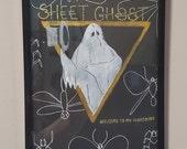 Vinyl Cover; Sheet Ghost Series