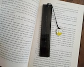 Bunny Moon Bookmark, Bunny, Moon, Bookmark, Resin Bookmark