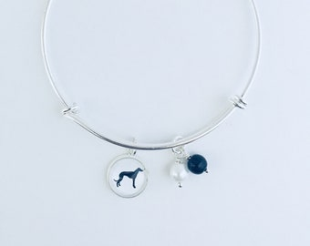 Greyhound Bracelet, Greyhound Jewelry, Greyhound Gifts, Dog Lover Gifts, Pet Jewelry, Pet Lover Gifts, Greyhound Rescue