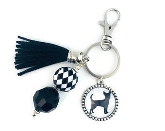 Chihuahua Key Chain, Chihuahua Key Ring, Chihuahua Gifts, Chihuahua Lovers, Dog Lover Gifts, Dog Key Chain, Chihuahua