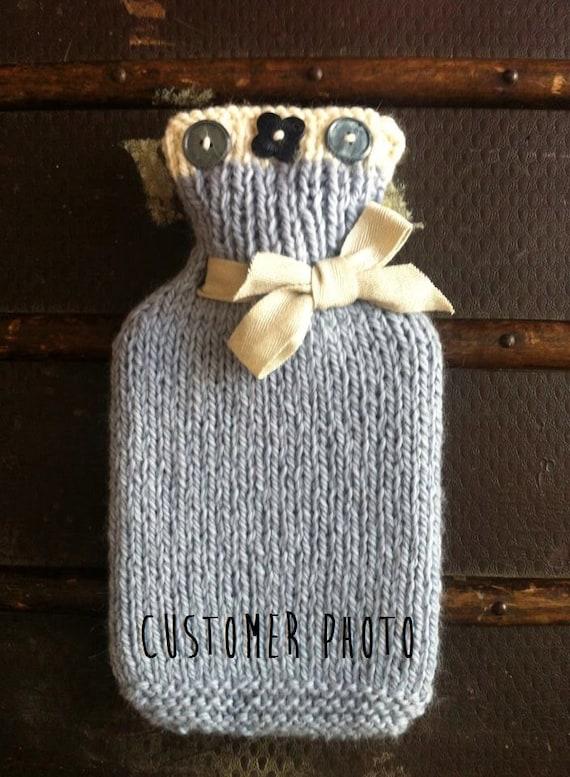 Für Anfänger einfach DIY Wärmflasche Decken stricken Kit | Etsy