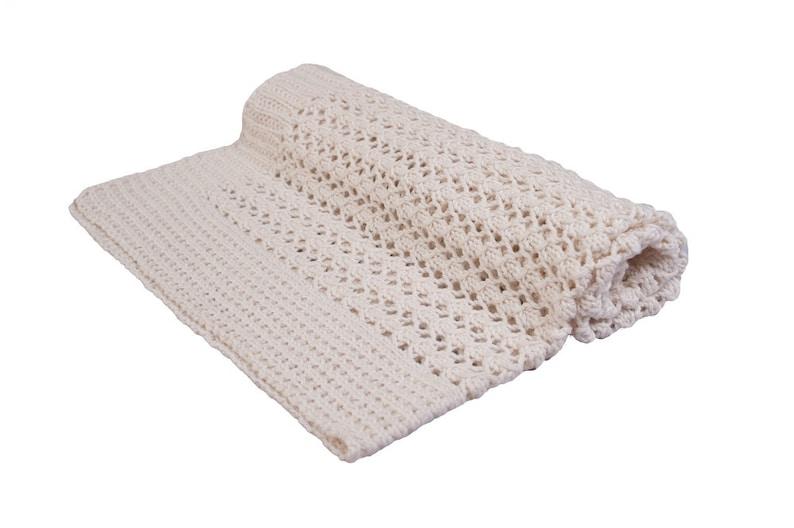ef4dc80cb Baby Blanket Knitting Pattern PDF Cellular Pram Blanket