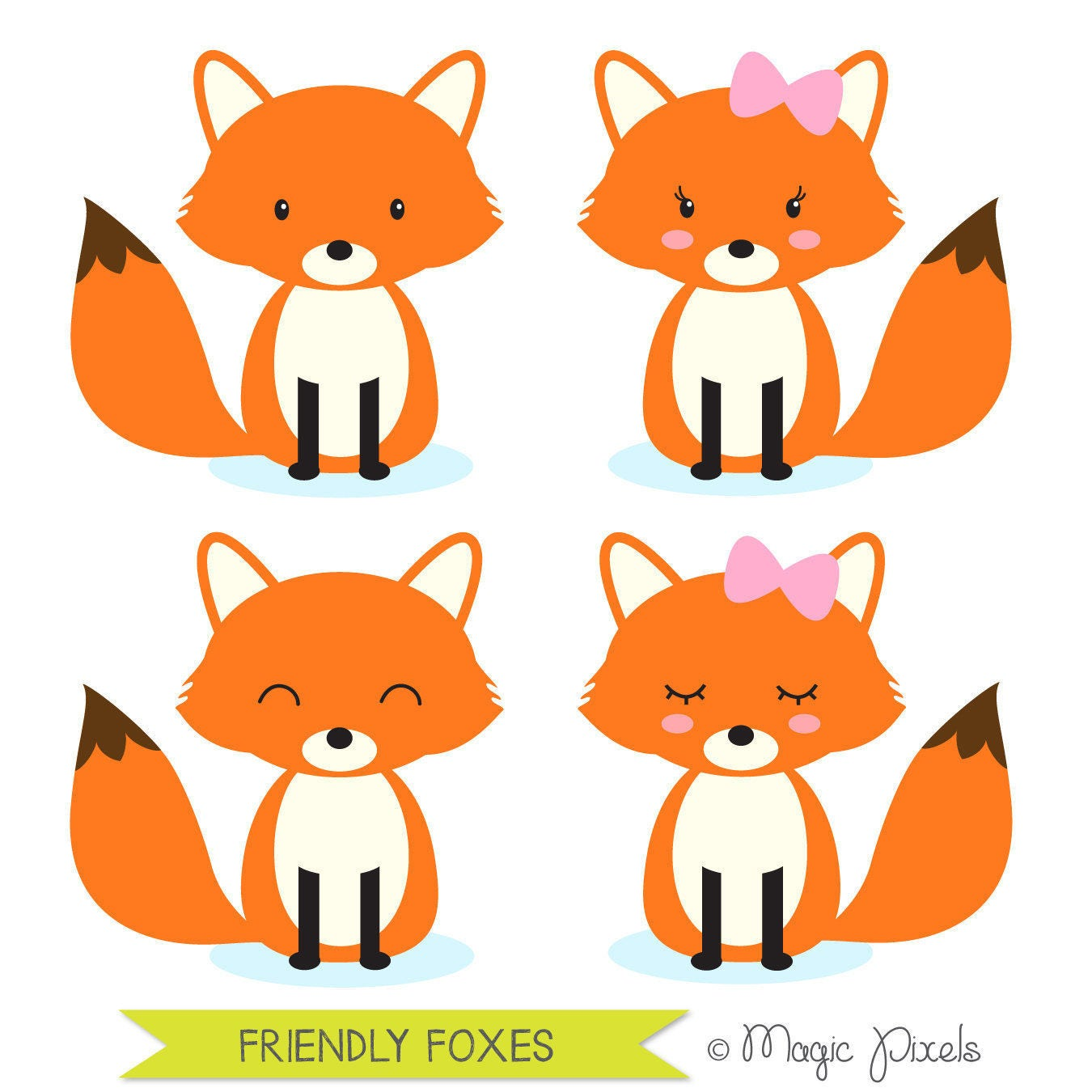fox clipart woodland animals clipart forest animals clipart etsy rh etsy com fox clipart png fox clipart face