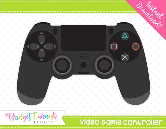 Video Game Clipart Video Game Controller Clipart Gamer Clipart Game On Clipart Commercial Use Instant Download