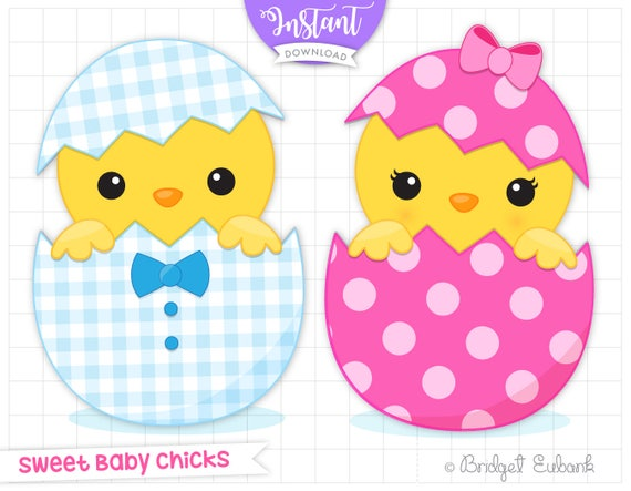 Chick clipart chick clip art Easter chicks clip art he or ...