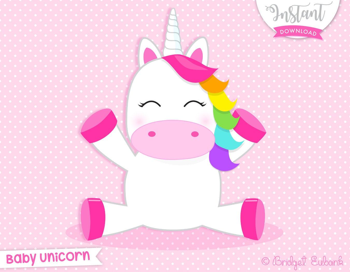 Unicorn clipart unicorn party unicorn birthday unicorn | Etsy