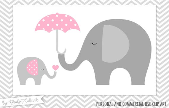Baby shower clipart Elephant clipart Baby elephant clipart ...