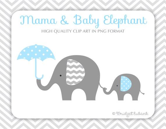 Elephant Clipart Baby Elephant Clipart Elephant Clip Art Etsy