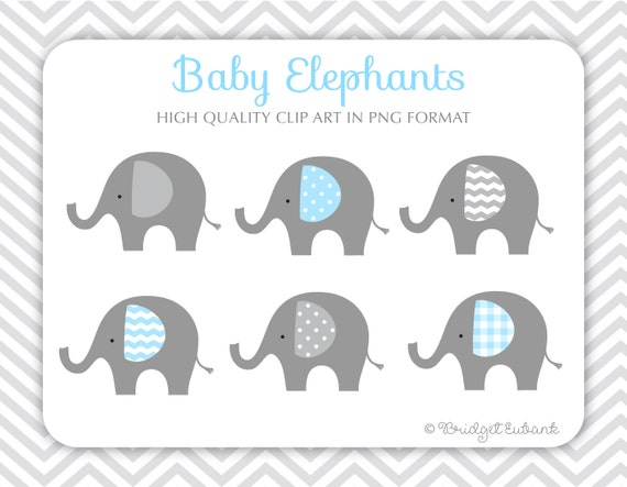 Baby Elephant clipart Elephant clip art baby shower clip ...