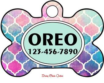 Custom Dog Tag - Dog Tag for Dogs - Dog ID Tag - Pet Tags - Dog Tag - Dog Mom Gift - Pet ID Tag - Pet Gift - Dog Tag ID Personalized Pet Tag