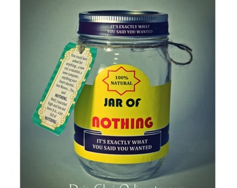 Best Gag Gift A Jar Of Nothing Funny For Boyfriend