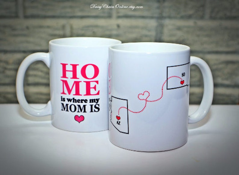 Long Distance Coffee Mug Mothers Day Gift Birthday Gift For Etsy