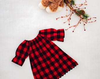 Buffalo Plaid Baby/Toddler Dress