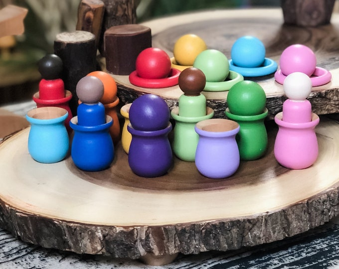 Classic 10 Color Loose Parts Set