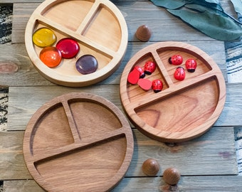 Wooden Tinker tray by Bless This Homeschool