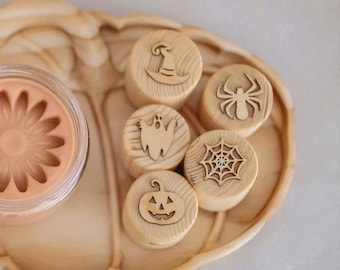 PREORDER • Halloween Play Dough Stamps