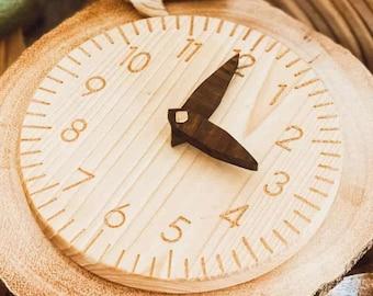 Wooden Montessori Clock