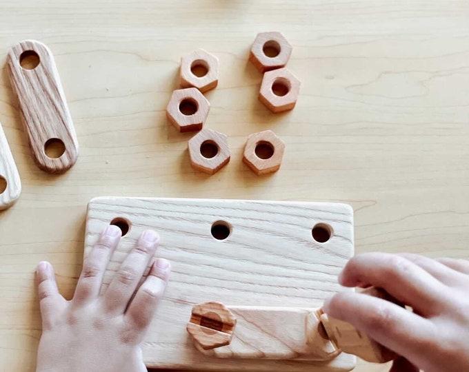 Wooden Constructor Set